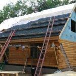 Log Cabin roofing