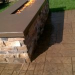 Stone Outdoor Fireplace 2